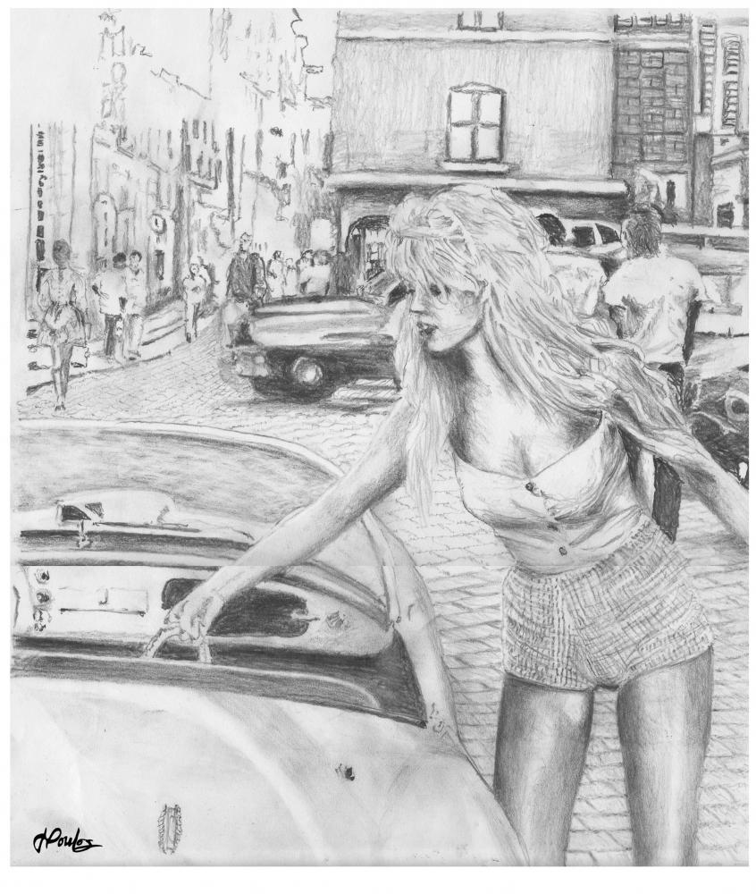 Brigitte Bardot by jpoulos2561